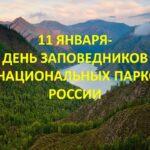11 января – День заповедников и национальных парков в РФ