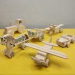 Выставка деревянной игрушки